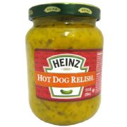 American Heinz Hot Dog Relish - 296g